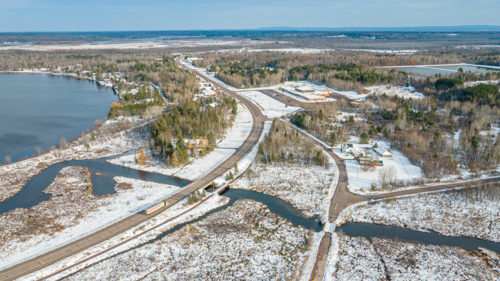 Chassell Michigan Drone Photography